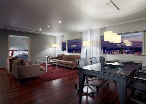 Gothia Towers - Senior Suite Living Room Gothia Towers
