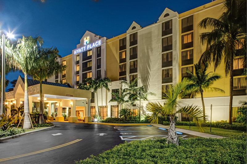 Hyatt Place Fort Lauderdale Airport-North Ulkonäkymä