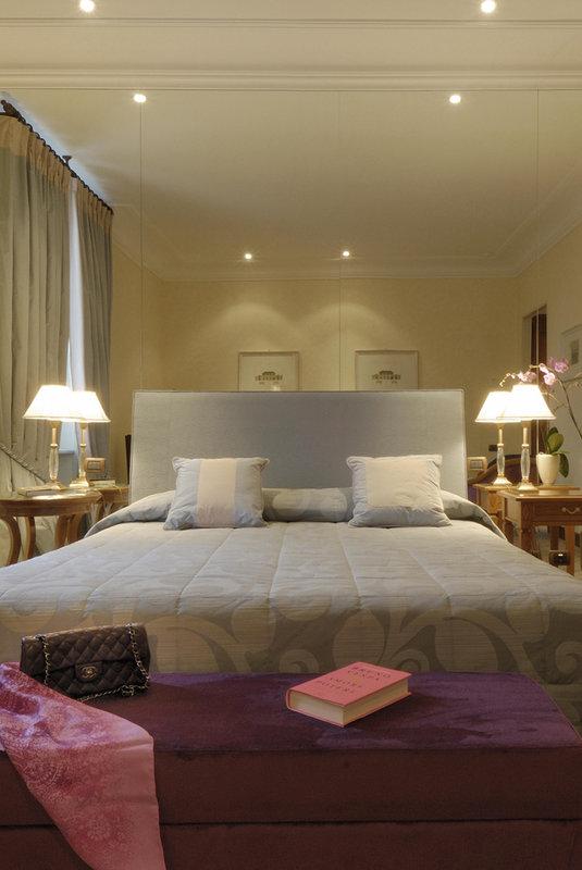 Aldrovandi Villa Borghese Vista de la habitación