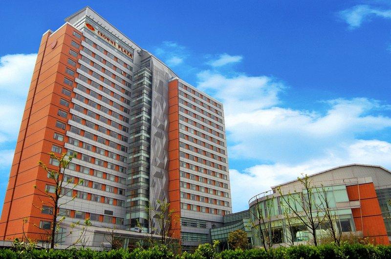 Crowne Plaza Hotel Fudan Shanghai Außenansicht