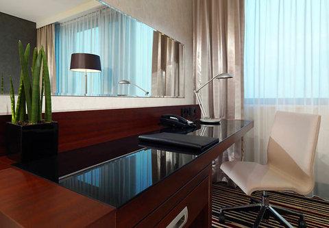 Frankfurt Marriott Hotel - Executive Guest Room Work Desk