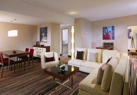 Frankfurt Marriott Hotel - Executive Suite Dining Area