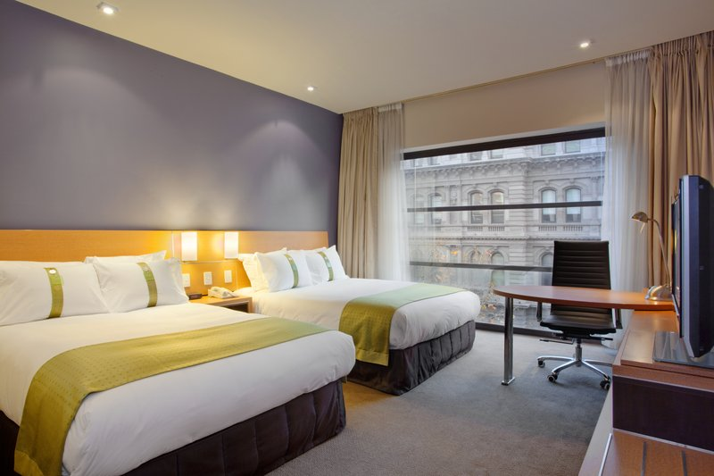 Holiday Inn Melbourne On Flinders Vista do quarto