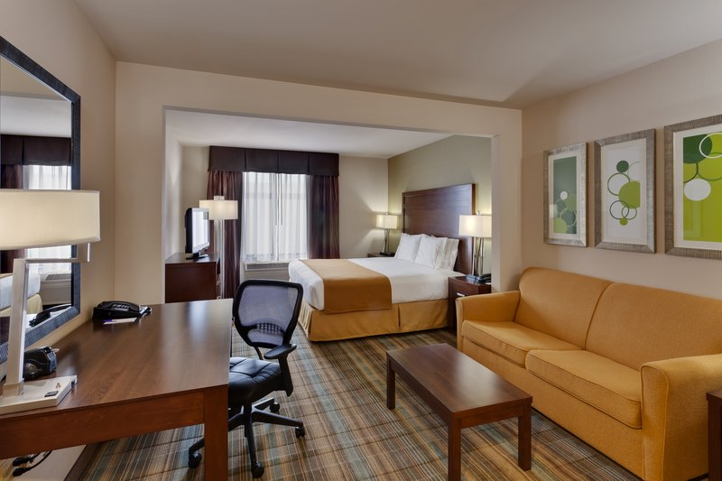 Holiday Inn Express Hotel & Suites San Francisco-Airport North Vista do quarto