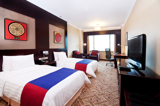 Crowne Plaza Hotel Shanghai Pudong View of room