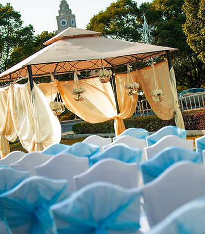 Renaissance Hotel Suzhou - Outdoor Wedding Setup