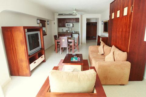 El Cid La Ceiba Cozumel - OBSuite Living Room