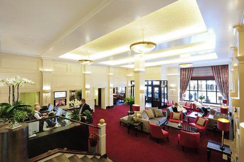 Kastens Hotel Luisenhof - Lobby at Kastens Hotel Luisenhof Hanover