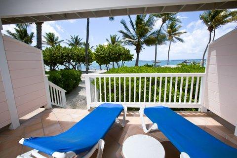 St. James Club All Inclusive Hotel - Beachfront Room Terrace