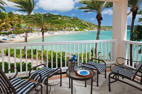 St. James Club All Inclusive Hotel - Premium Oceanview Room Balcony