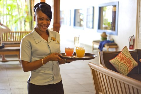 St. James Club All Inclusive Hotel - Welcome Drink