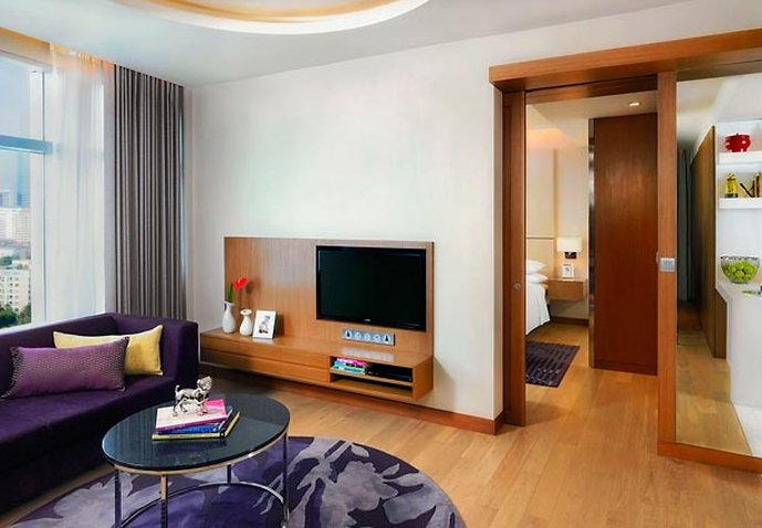Marriott Executive Apartments Bangkok, Sukhumvit Thonglor Zimmeransicht