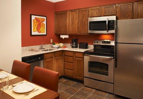 Residence Inn Chicago Waukegan/Gurnee - Two-Bedroom Suite Kitchen