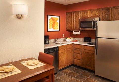 Residence Inn Chicago Waukegan/Gurnee - Suite Kitchen