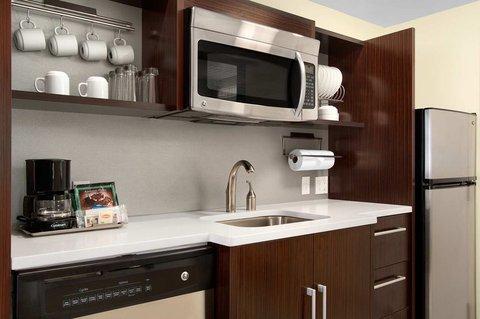 Home2 Baltimore/White Marsh - King Stuido Suite Kitchen Area