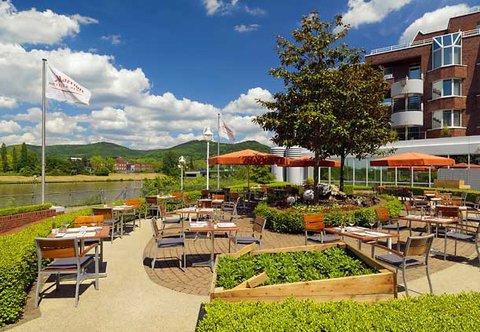 Heidelberg Marriott Hotel - Outdoor Terrace