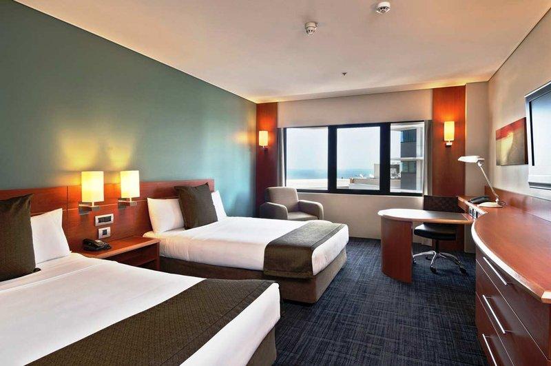 Hilton Darwin 客房视图