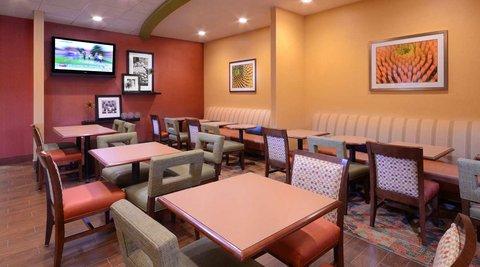 Hampton Inn Fayetteville - Cross Creek Mall - Breakfast Area