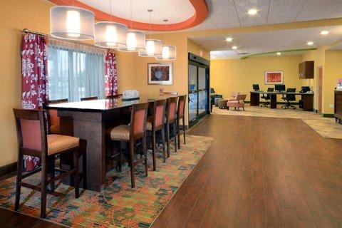Hampton Inn Fayetteville - Cross Creek Mall - Perfect Mix Lobby