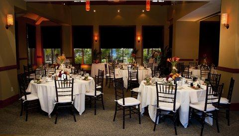 Embassy Suites Fort Lauderdale - 17th Street - Wedding Tera Room Set Up
