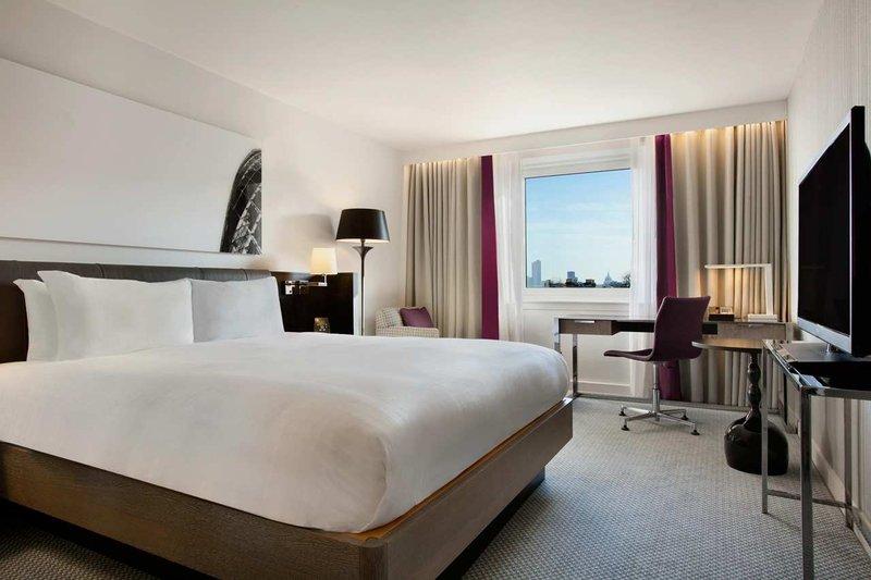 Hilton London Islington hotel Huonenäkymä