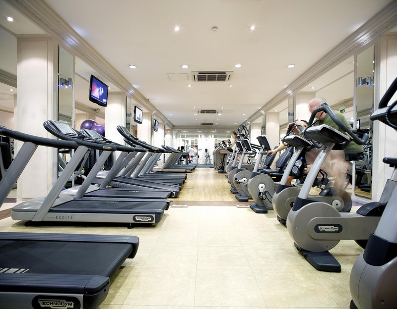 The Waldorf Hilton Fitness club