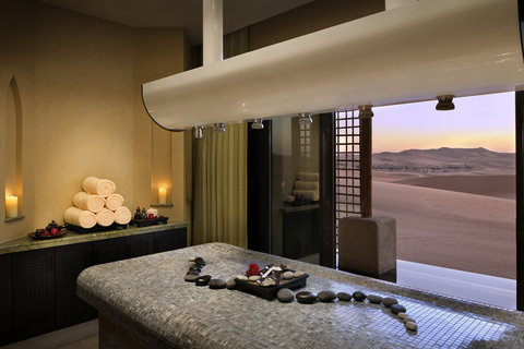 أنتارا قصر السراب منتجع الصحراء - Spa Treatment Suite With AView