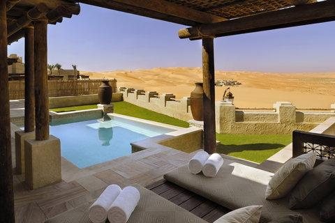 أنتارا قصر السراب منتجع الصحراء - Morning Outlook From Private Pool