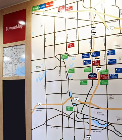 TownePlace Suites Detroit Dearborn - TowneMap