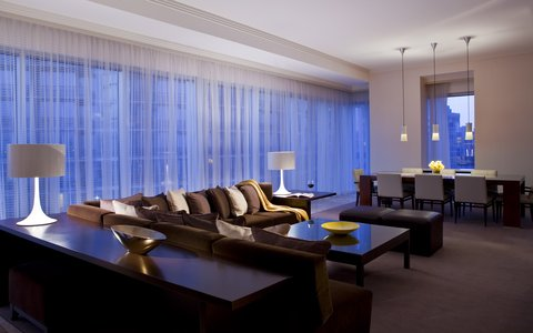 فندق أتلانتا - Presidential Suite Living Area
