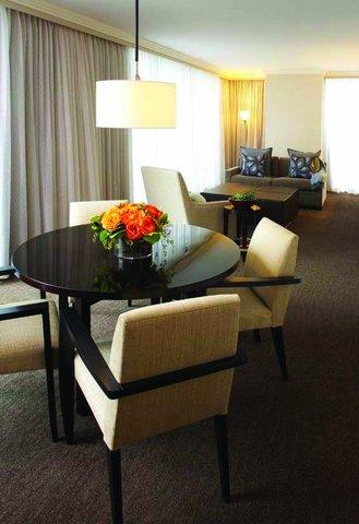 فندق أتلانتا - Grand Luxury Suite Dining Area