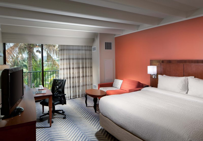 Hotel Courtyard Fort Lauderdale East Vista do quarto