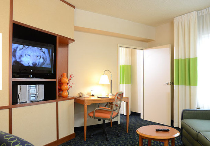 Fairfield Inn & Suites Columbus / OSU Vista do quarto
