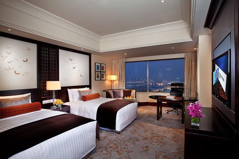 无锡君来洲际酒店 客房视图