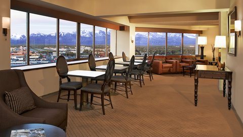 Sheraton Anchorage Hotel & Spa - Executive Club Lounge