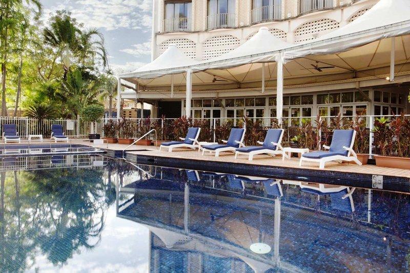 DoubleTree by Hilton Hotel Darwin Vista della piscina