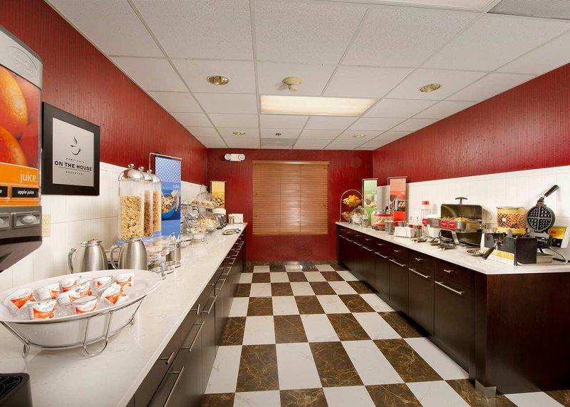 Hampton Inn & Suites Ft. Lauderdale Airport Étkezés