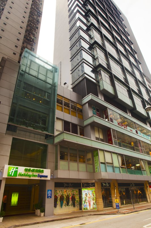 Holiday Inn Express Causeway Bay Vista exterior