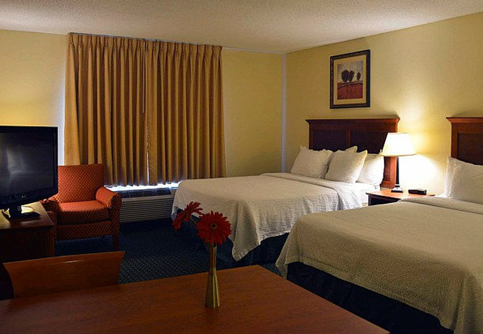 TownePlace Suites Colorado Springs South 客室