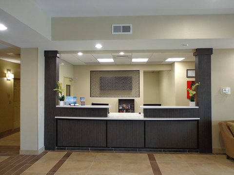 Candlewood Suites Odessa Hotel - Front Desk