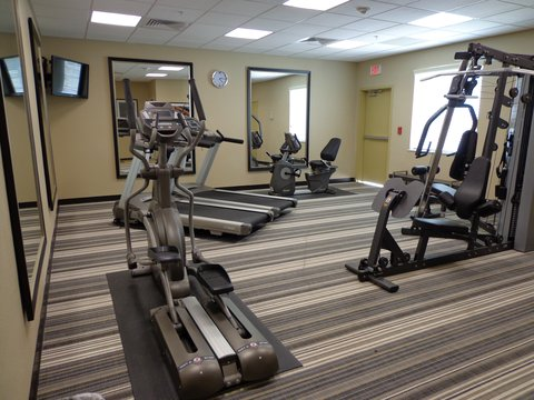 Candlewood Suites Odessa Hotel - Gym