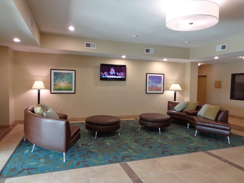 Candlewood Suites Odessa Hotel - Hotel Lobby