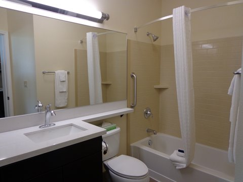 Candlewood Suites Odessa Hotel - Guest Bathroom