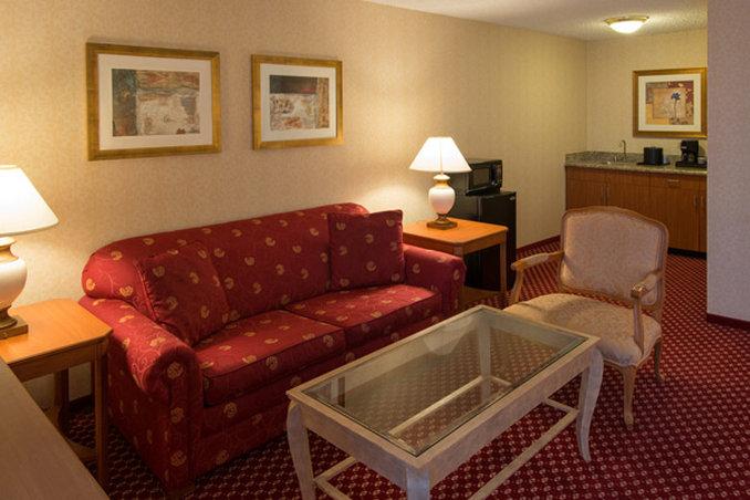 Holiday Inn Express Hotel & Suites Chicago o`Hare Widok pokoju