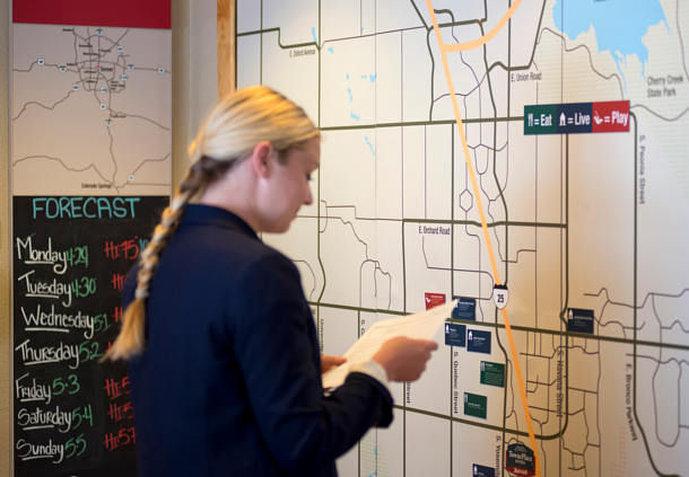 TownePlace Suites Denver West/Federal Center Mapa