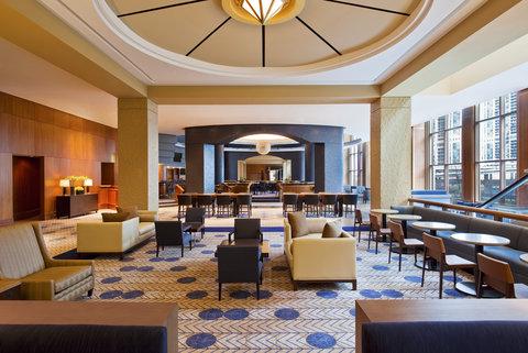 Sheraton Grand Chicago Hotel - Lobby