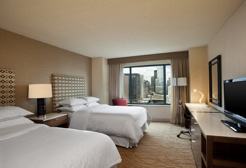 Sheraton Grand Chicago Hotel - Deluxe Double Double Room