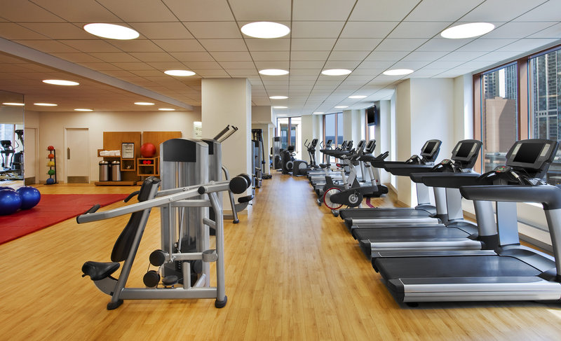 Sheraton Chicago Hotel & Towers Fitness club