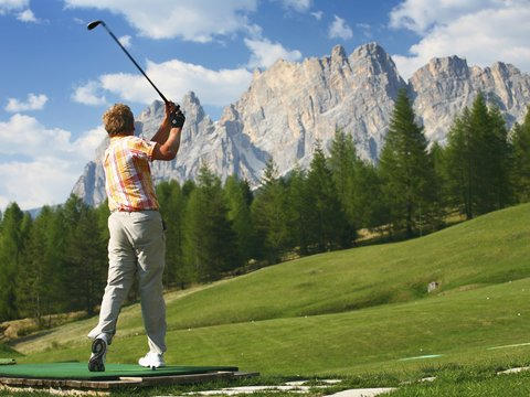 Cristallo Hotel Spa and Golf - Golf Cortina