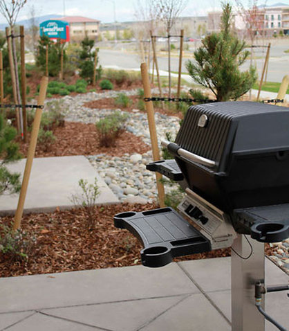 TownePlace Suites Richland Columbia Point - BBQ Grill Area